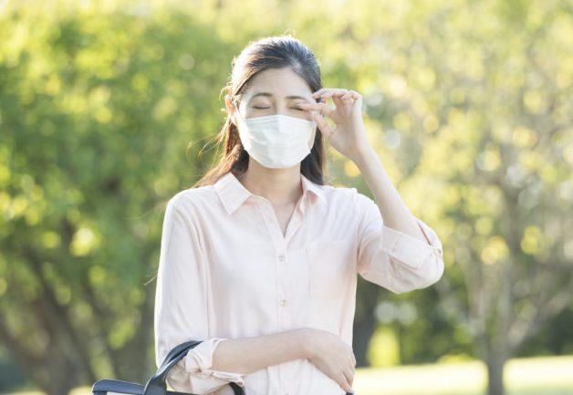 花粉症 アレルギーによる目の痛みは盛岡市のたかはし眼科へ