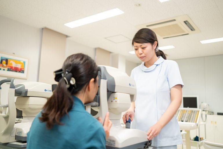 緑内障の検査|盛岡市で緑内障の治療は、たかはし眼科
